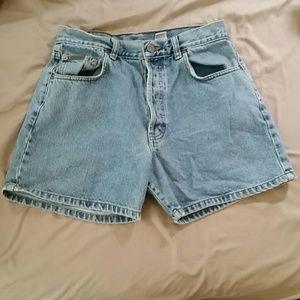🍄Calvin Klein high waist denim jean shorts 9